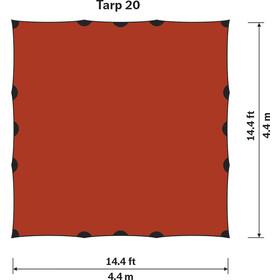 Hilleberg Tarp 20 UL, red